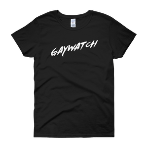 Gaywatch - Women's short sleeve t-shirt - Cozzoo