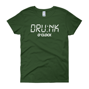 DRU:NK O'CLOCK - Women's short sleeve t-shirt - Cozzoo
