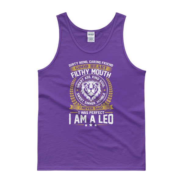 Dirty Mind, Caring Friend, Good Heart... Leo - Tank top - Cozzoo