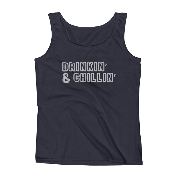 Drinkin' & Chillin' - Ladies' Tank - Cozzoo