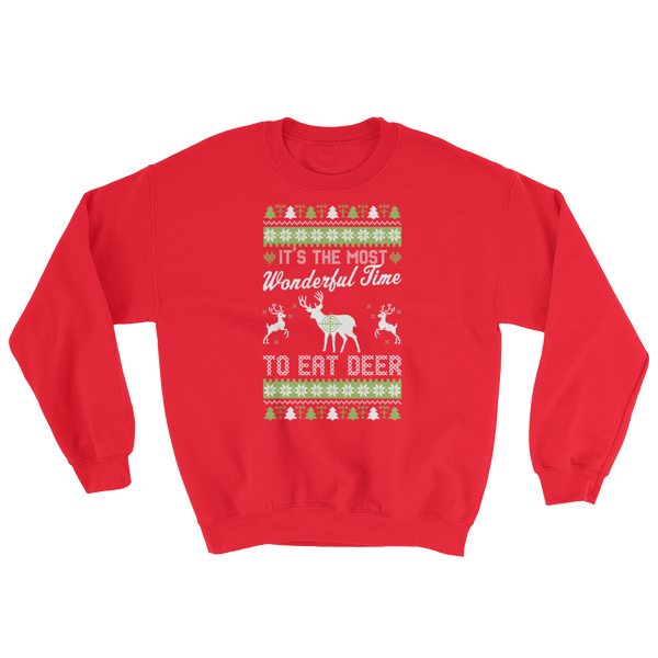 It's The Most Wonderful Time To Eat Deer - Sweatshirt - Cozzoo