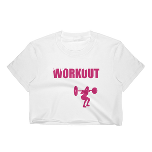 After This Workout We're Getting Beer - Women's Crop Top - Cozzoo
