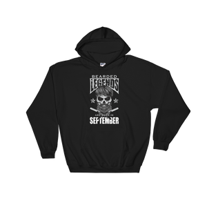 Bearded Legends Are Born In September - Hoodie Sweatshirt - Cozzoo