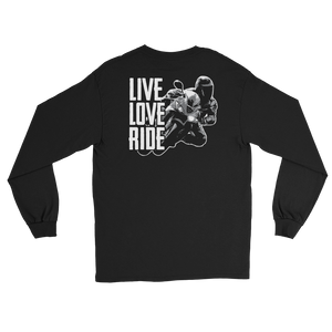 Live Love Ride - Long Sleeve T-Shirt - Cozzoo