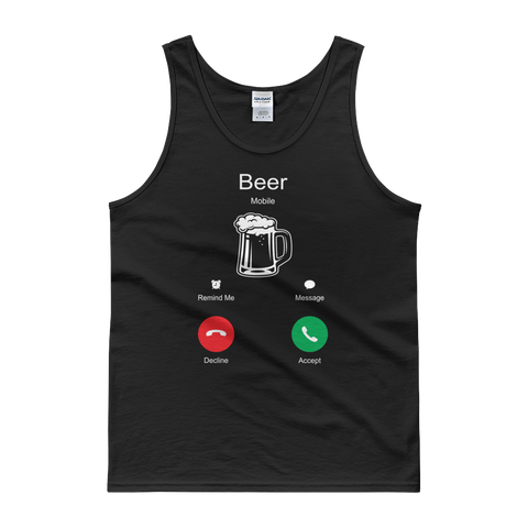 Beer Is Calling - Tank top - Cozzoo