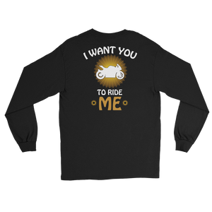 I Want You To Ride Me - Long Sleeve T-Shirt - Cozzoo