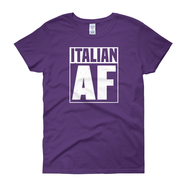 Italian AF - Women's short sleeve t-shirt - Cozzoo
