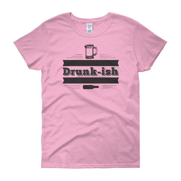 Drunk-ish - Women's short sleeve t-shirt - Cozzoo