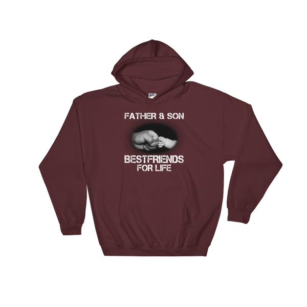 Father And Son Best Friends For Life - Hoodie Sweatshirt - Cozzoo
