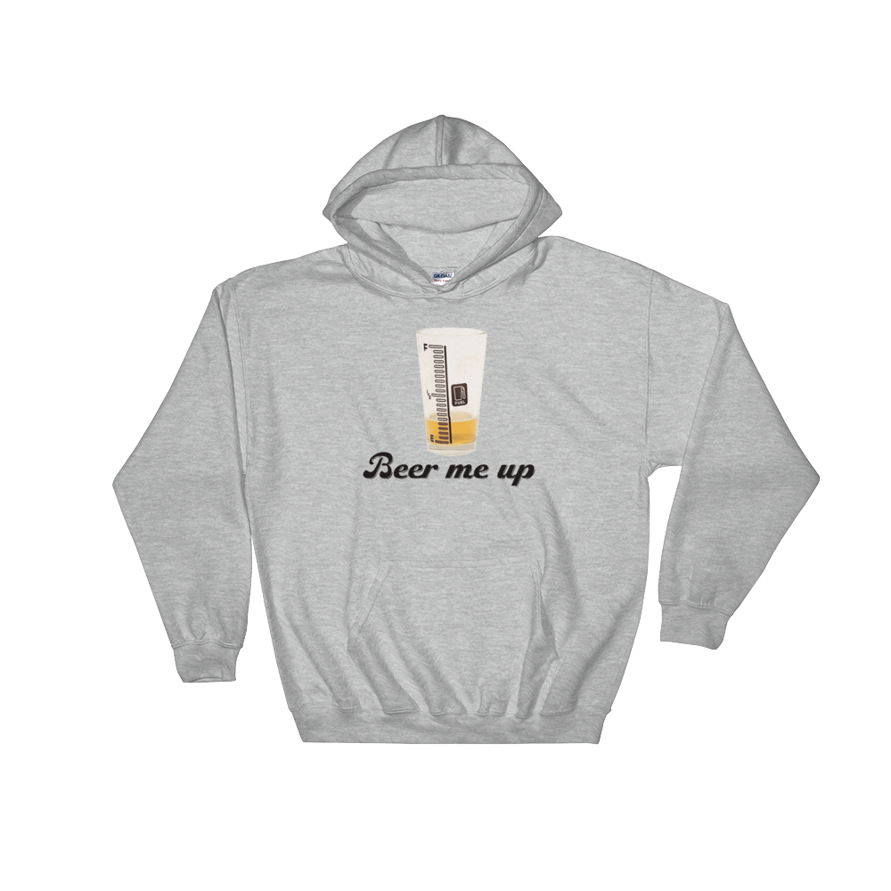 Beer Me Up - Hoodie Sweatshirt Sweater - Cozzoo