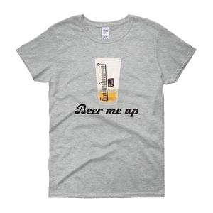Beer Me Up - Women's short sleeve t-shirt - Cozzoo