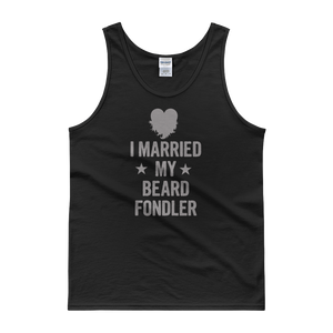 I Married My Beard Fondler - Tank top - Cozzoo