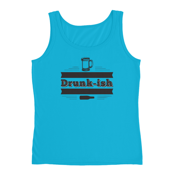 Drunk-ish - Ladies' Tank - Cozzoo