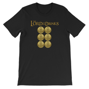 Lord Of The Drinks - Short-Sleeve Unisex T-Shirt - Cozzoo