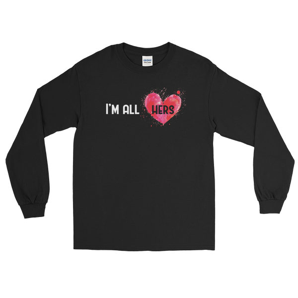 I'm All Hers - Long Sleeve T-Shirt - Cozzoo