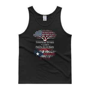 American Grown With Puerto Rican Roots - Tank top - Cozzoo