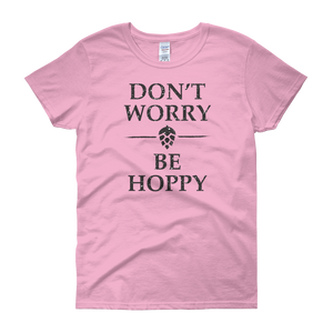 Don't Worry Be Hoppy - Women's short sleeve t-shirt - Cozzoo
