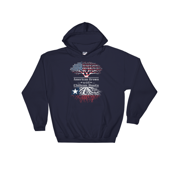 American Grown With Chilean Roots - Hoodie Sweatshirt Sweater - Cozzoo