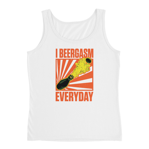 I Beergasm Every Day - Ladies' Tank - Cozzoo