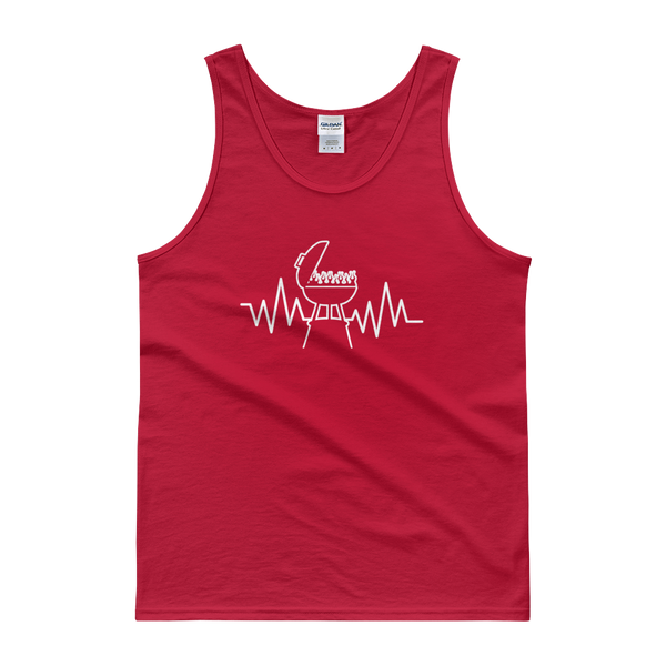 Grill Heartbeat - Tank top - Cozzoo