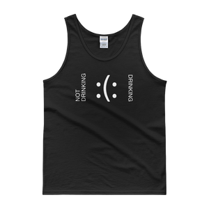 Not Drinking - Drinking - Tank top - Cozzoo