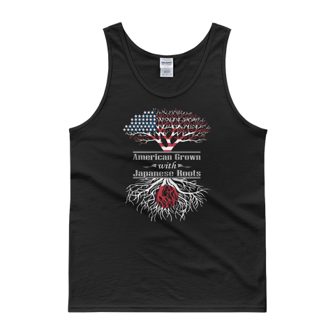 American Grown With Japanese Roots - Tank top - Cozzoo