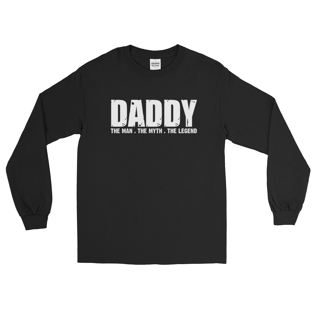 Daddy - The Man. The Myth. The Legend - Long Sleeve T-Shirt - Cozzoo