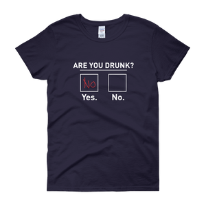 Are You Drunk? - Women's short sleeve t-shirt - Cozzoo