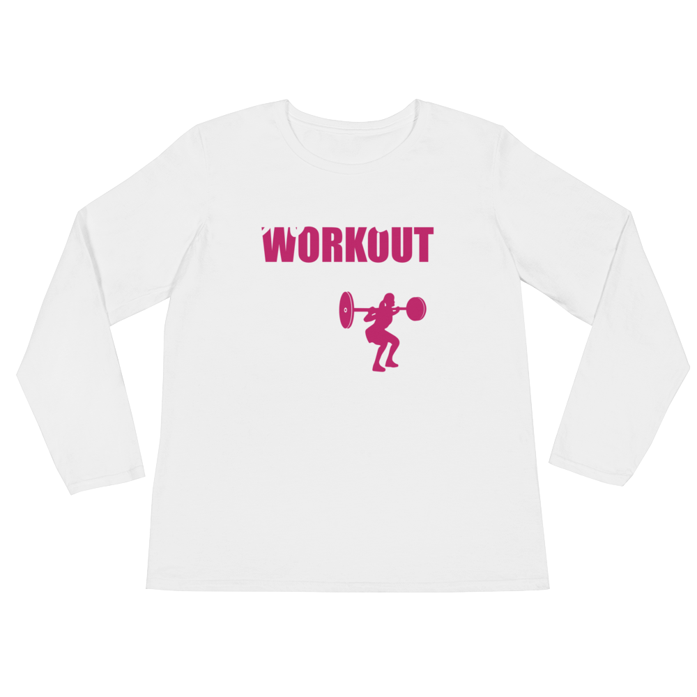 After This Workout We're Getting Beer - Ladies' Long Sleeve T-Shirt - Cozzoo
