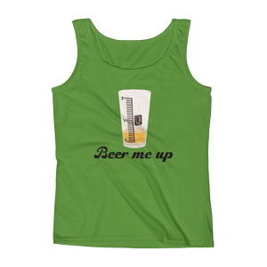 Beer Me Up - Ladies' Tank - Cozzoo