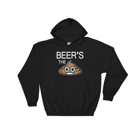 Beer's The Shit - Hoodie Sweatshirt Sweater - Cozzoo