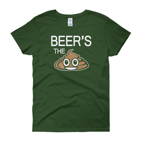 Beer's The Shit - Women's short sleeve t-shirt - Cozzoo