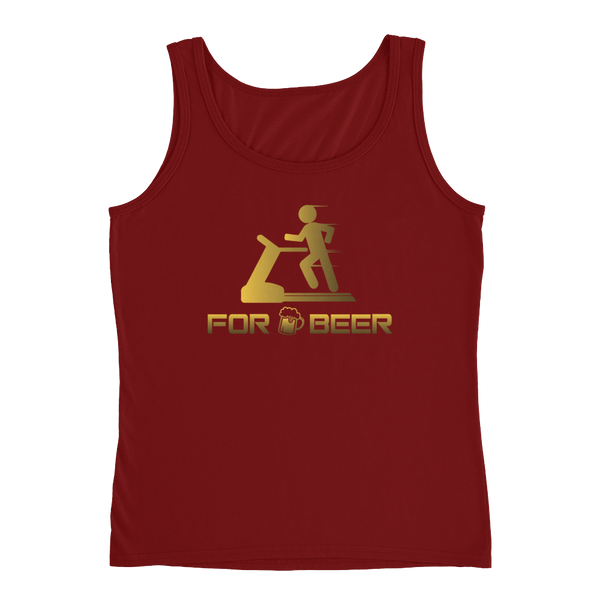 For Beer - Ladies' Tank - Cozzoo