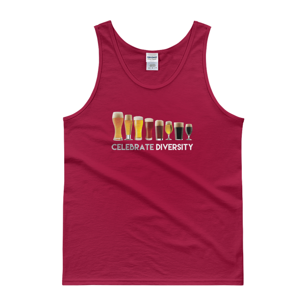 Celebrate Diversity - Beer - Tank top - Cozzoo
