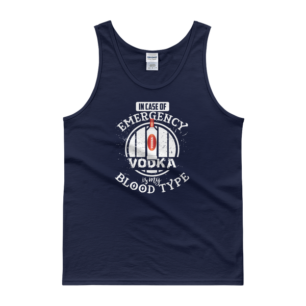 In Case Of Emergency Vodka Is My Blood Type - Tank top - Cozzoo