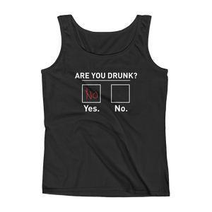 Are You Drunk? - Ladies' Tank - Cozzoo