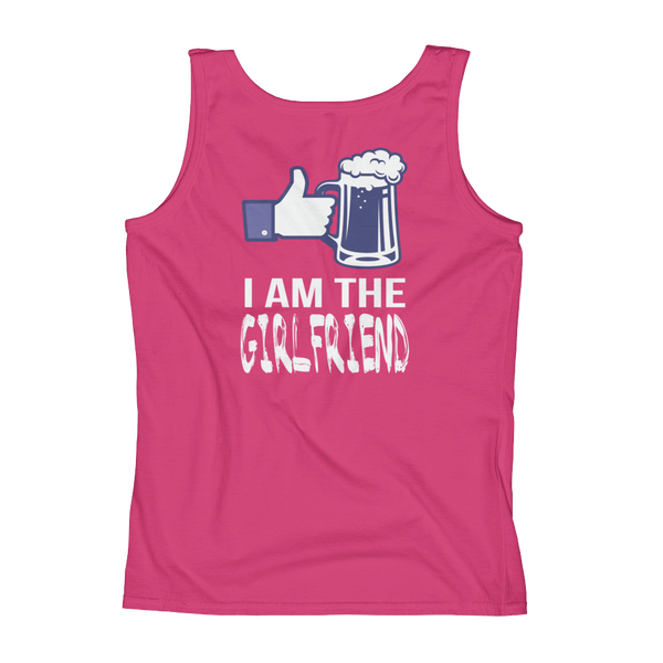 I Am The Girlfriend - Ladies' Tank - Cozzoo