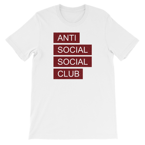 Anti Social Social Club - Short-Sleeve Unisex T-Shirt - Cozzoo