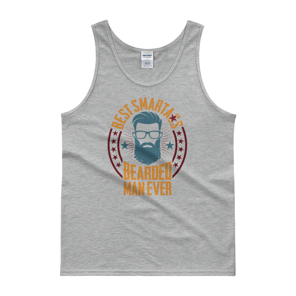 Best Smartass Bearded Man Ever - Tank top - Cozzoo