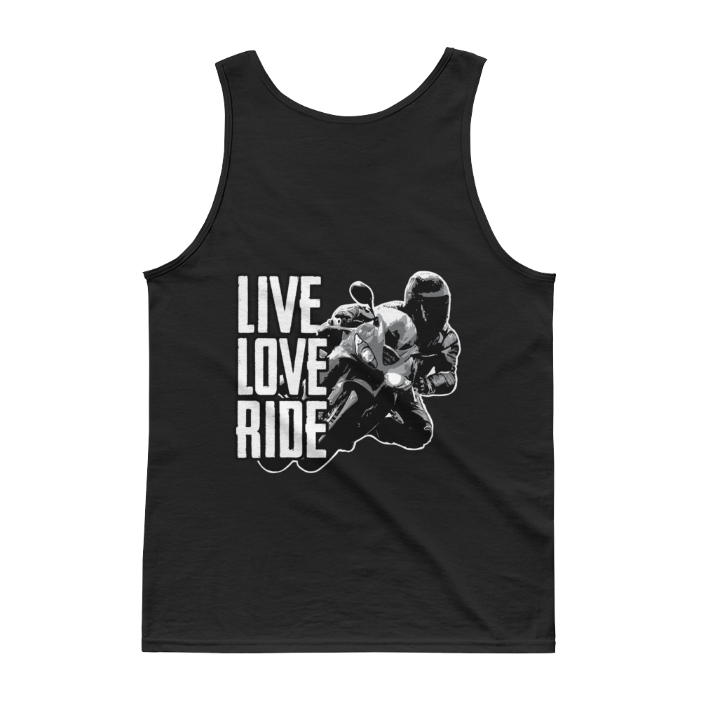 Live Love Ride - Tank top - Cozzoo