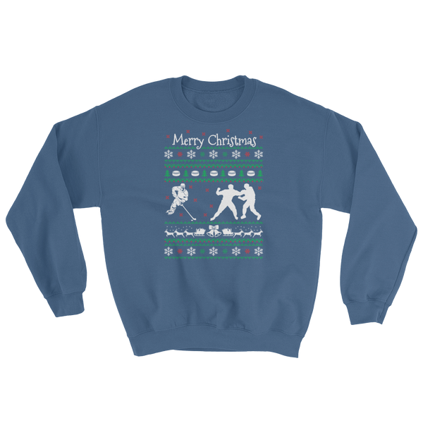 Merry Christmas - Hockey - Sweatshirt - Cozzoo
