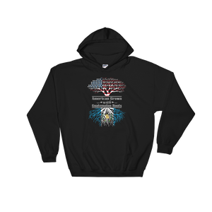 American Grown With Guatemalan Roots - Hoodie Sweatshirt Sweater - Cozzoo