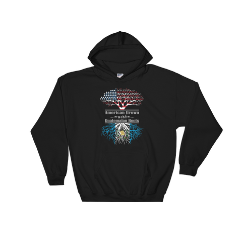 American Grown With Guatemalan Roots - Hoodie Sweatshirt - Cozzoo