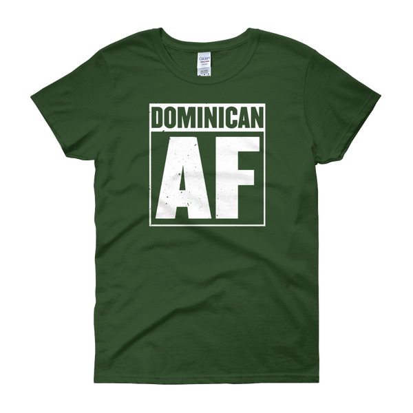Dominican AF - Women's short sleeve t-shirt - Cozzoo