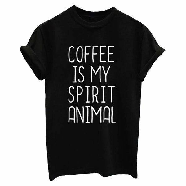 Coffee Is My Spirit Animal - Women's T-shirt - Cozzoo