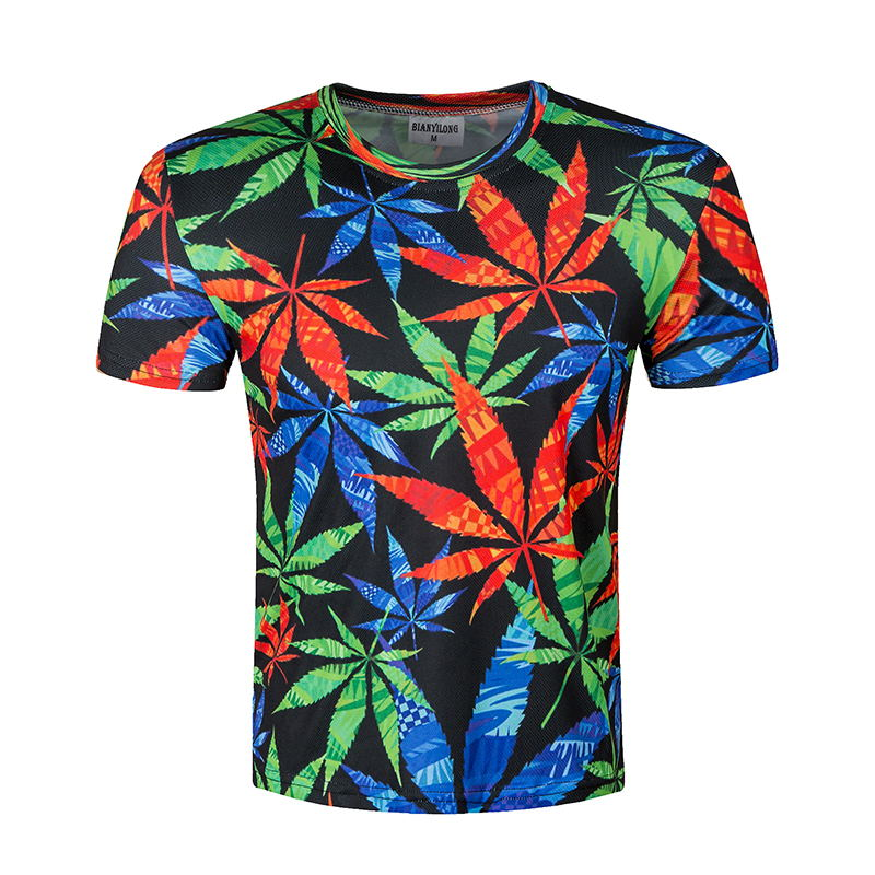 All Over Print Weed, Marijuana, Cannabis, Ganja, Maryjane Leaf T-shirt - Cozzoo