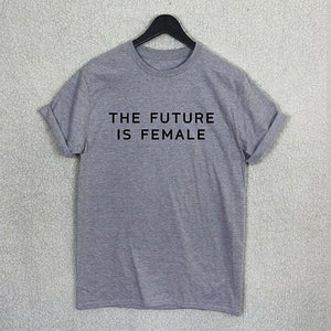 The Future Is Female - Feminist - Women's T-shirt - Cozzoo
