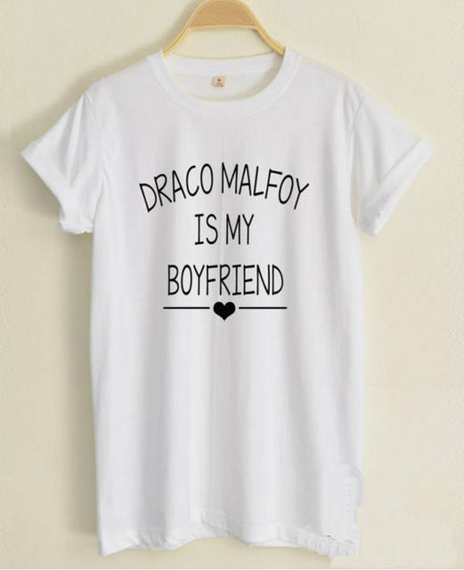 Draco Malfoy is My Boyfriend - Women's T-shirt - Cozzoo