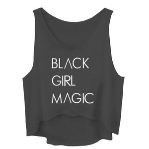 Black Girl Magic - Women's Crop Top - Cozzoo
