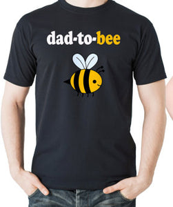Dad-To-Bee - Mom-To-Bee - Pregnancy/Maternity T-shirt - Cozzoo